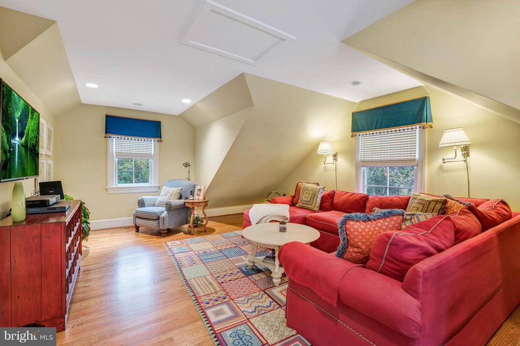 Second family room or 5th BR or nanny suite - 1208 SOUTHBREEZE LN, ANNAPOLIS