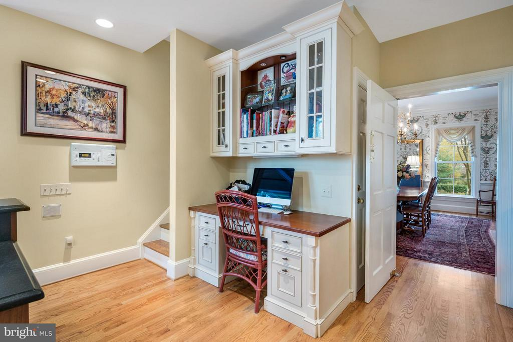 Computer station in kitchen/rear stairs - 1208 SOUTHBREEZE LN, ANNAPOLIS