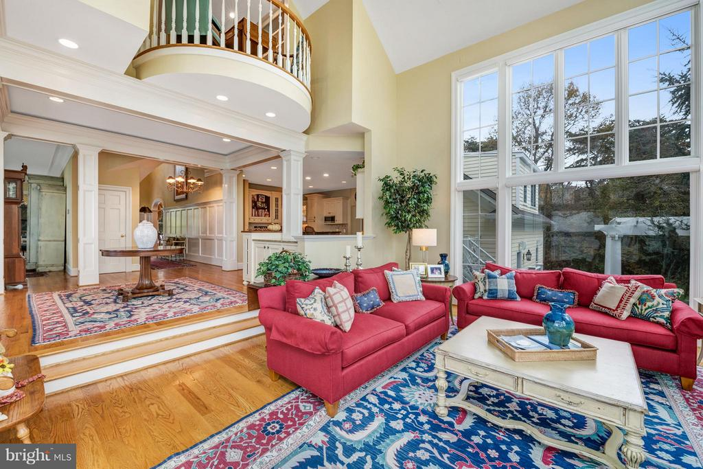 Creative custom interior, tastefully appointed - 1208 SOUTHBREEZE LN, ANNAPOLIS