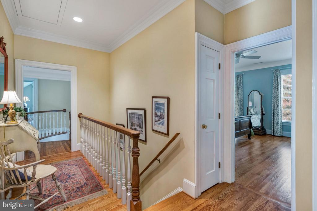Rear stairs lead to second level - 1208 SOUTHBREEZE LN, ANNAPOLIS