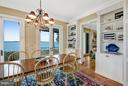 Spectacular water views from the breakfast room - 1208 SOUTHBREEZE LN, ANNAPOLIS