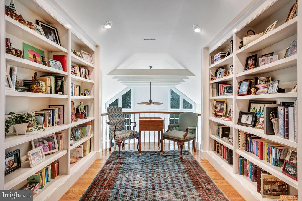 Second story overlook/library - 1208 SOUTHBREEZE LN, ANNAPOLIS