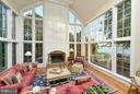 Dramatic 2 story greatroom w/ new electric shades - 1208 SOUTHBREEZE LN, ANNAPOLIS
