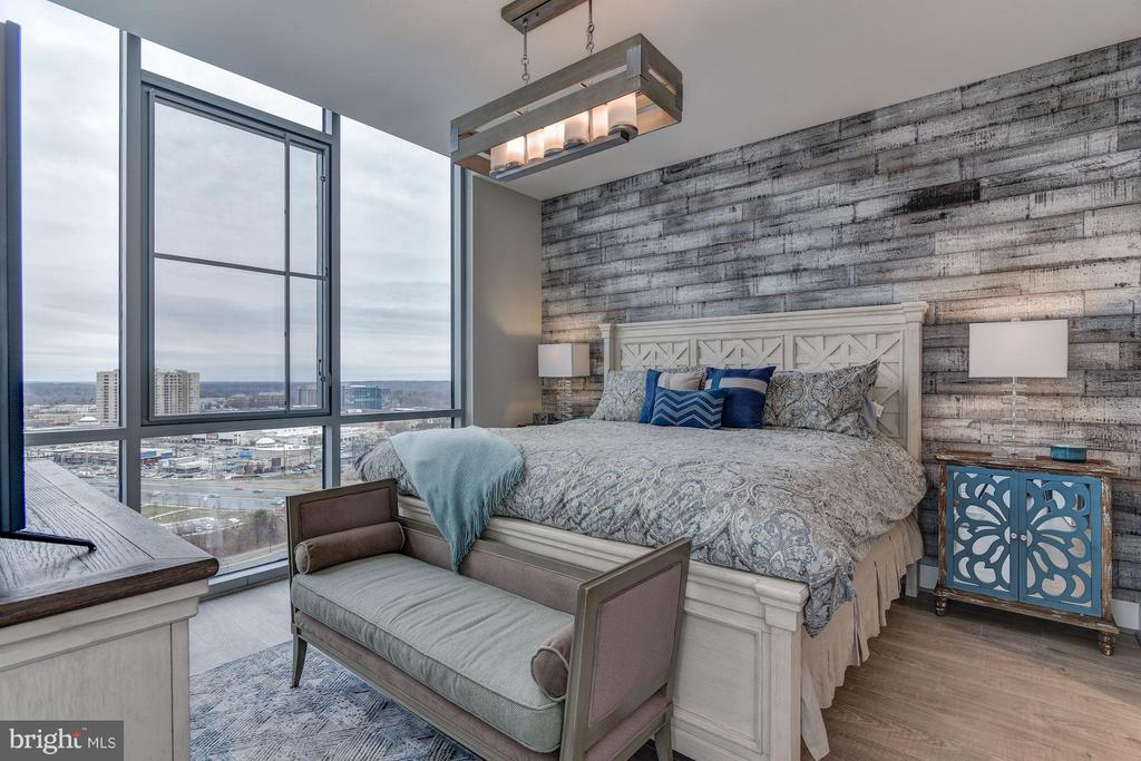 Master Bedroom with Customized Lighting - 930 ROSE AVE #1905, NORTH BETHESDA