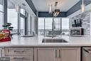 Large Kitchen Island - 930 ROSE AVE #1905, NORTH BETHESDA
