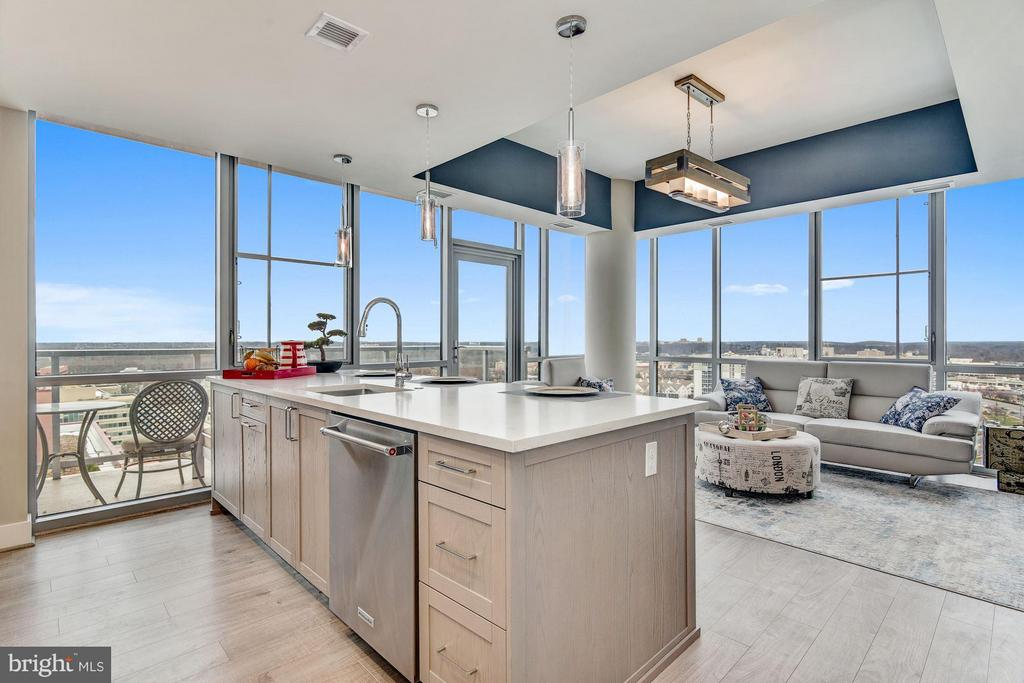 Corner Residence with 92sf Private Balcony - 930 ROSE AVE #1905, NORTH BETHESDA