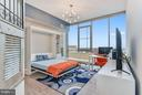 2nd Bedroom with Customized Murphy Bed System - 930 ROSE AVE #1905, NORTH BETHESDA