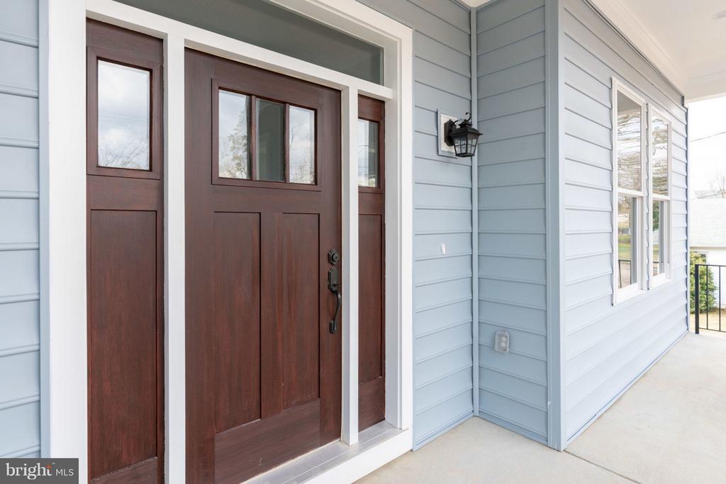 Solid wooden door. - 8733 POHICK RD, SPRINGFIELD