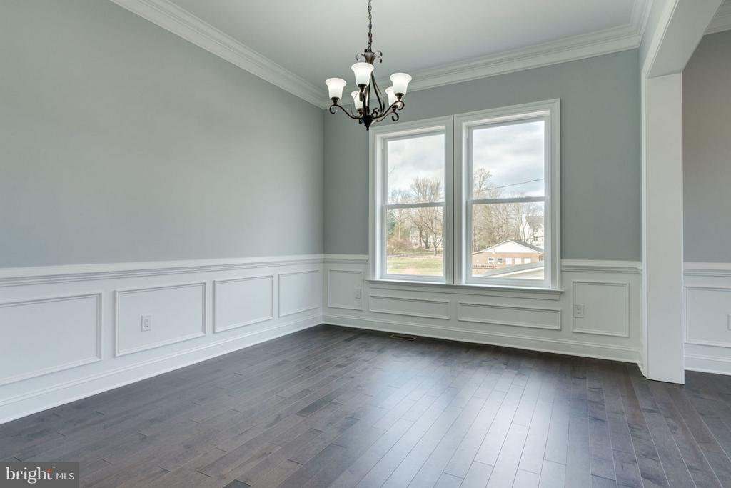 Formal DINING room view. - 8733 POHICK RD, SPRINGFIELD