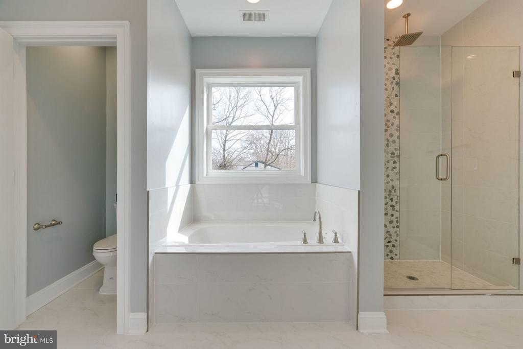 Master Bathroom  SOAKING TUB. - 8733 POHICK RD, SPRINGFIELD