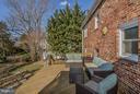 Deck Overlooks Fabulous Yard - 1616 N HOWARD ST, ALEXANDRIA