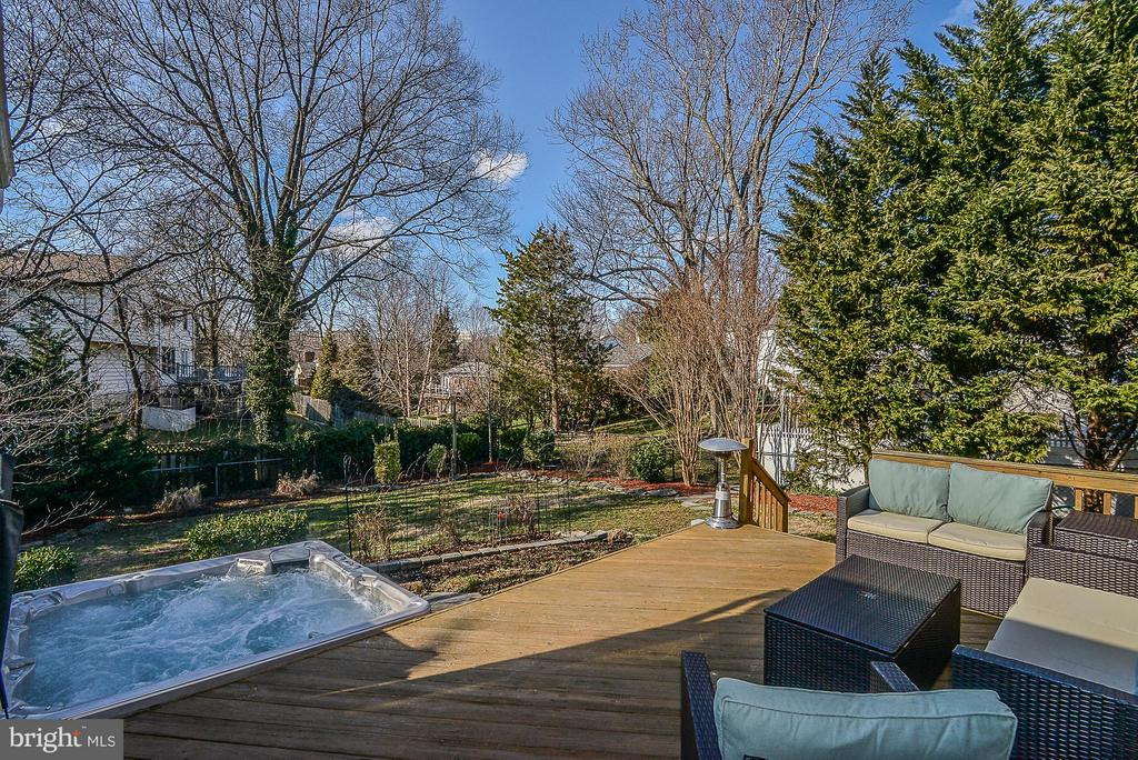 Hot Tub is pristine (negotiable w/ contract) - 1616 N HOWARD ST, ALEXANDRIA