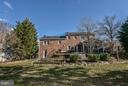 Back of the property, All sides are brick - 1616 N HOWARD ST, ALEXANDRIA