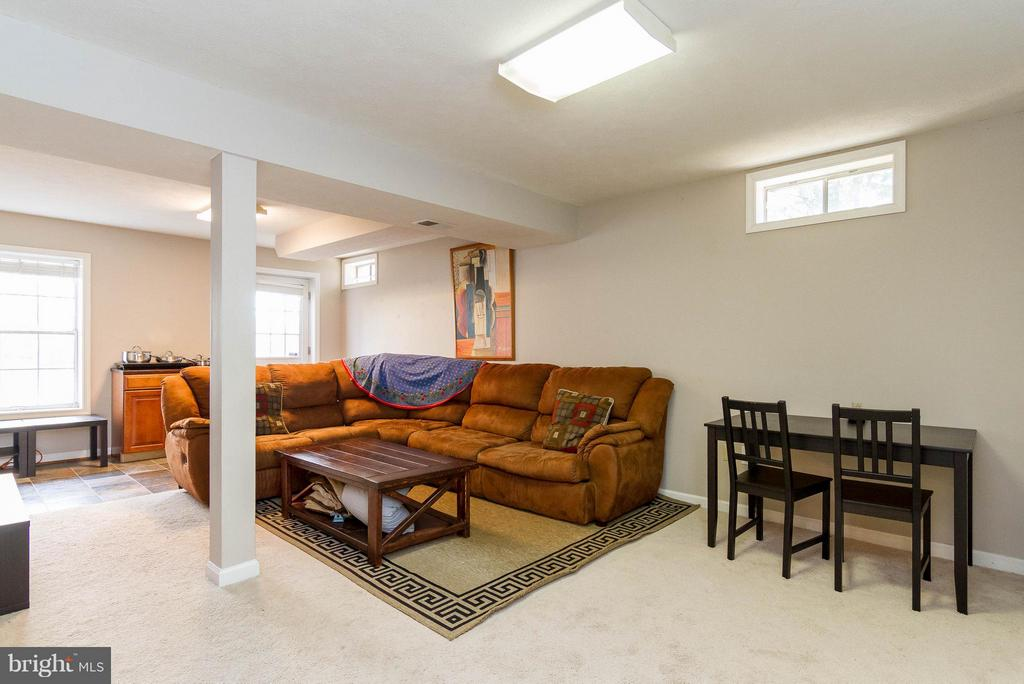 Spacious Rec room in Walk out basement - 3704 THOMASSON CROSSING DR, TRIANGLE