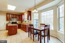 Eat-In Kitchen right off of Family Room - 3704 THOMASSON CROSSING DR, TRIANGLE