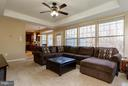 Family Room off kitchen perfect for entertaining - 3704 THOMASSON CROSSING DR, TRIANGLE