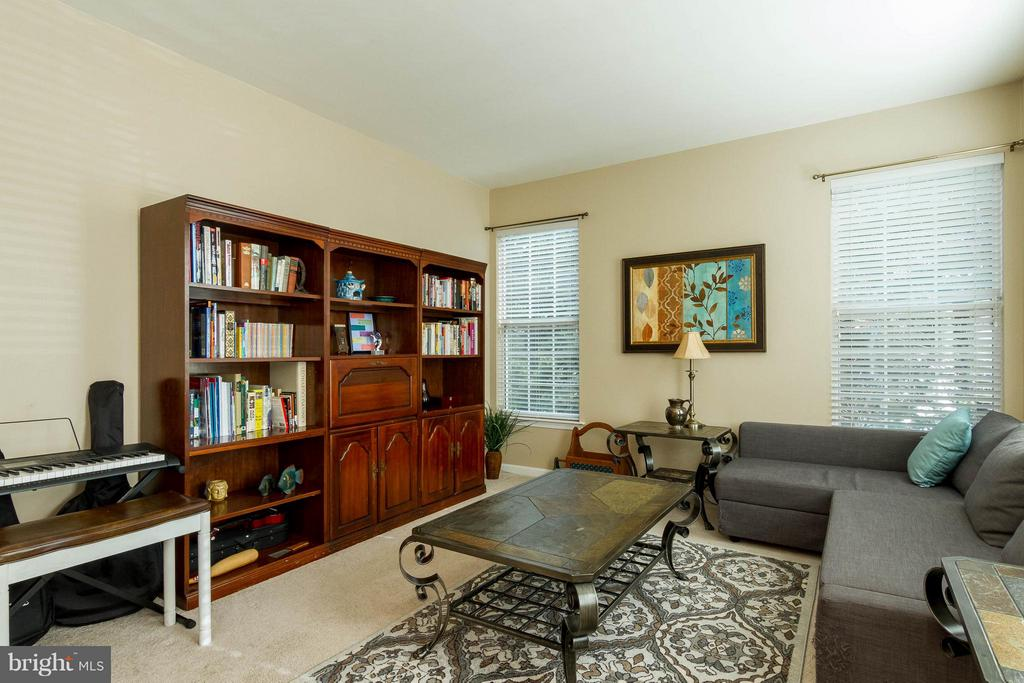 Spacious front room with plenty of natural light - 3704 THOMASSON CROSSING DR, TRIANGLE