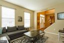 This room can be a Formal Living Room or Office - 3704 THOMASSON CROSSING DR, TRIANGLE