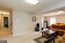 Large Rec Room in Basement - 3704 THOMASSON CROSSING DR, TRIANGLE