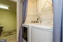 Laundry area on lower level - 3704 THOMASSON CROSSING DR, TRIANGLE