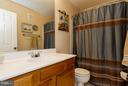 Upper level bath with plenty of counter space - 3704 THOMASSON CROSSING DR, TRIANGLE