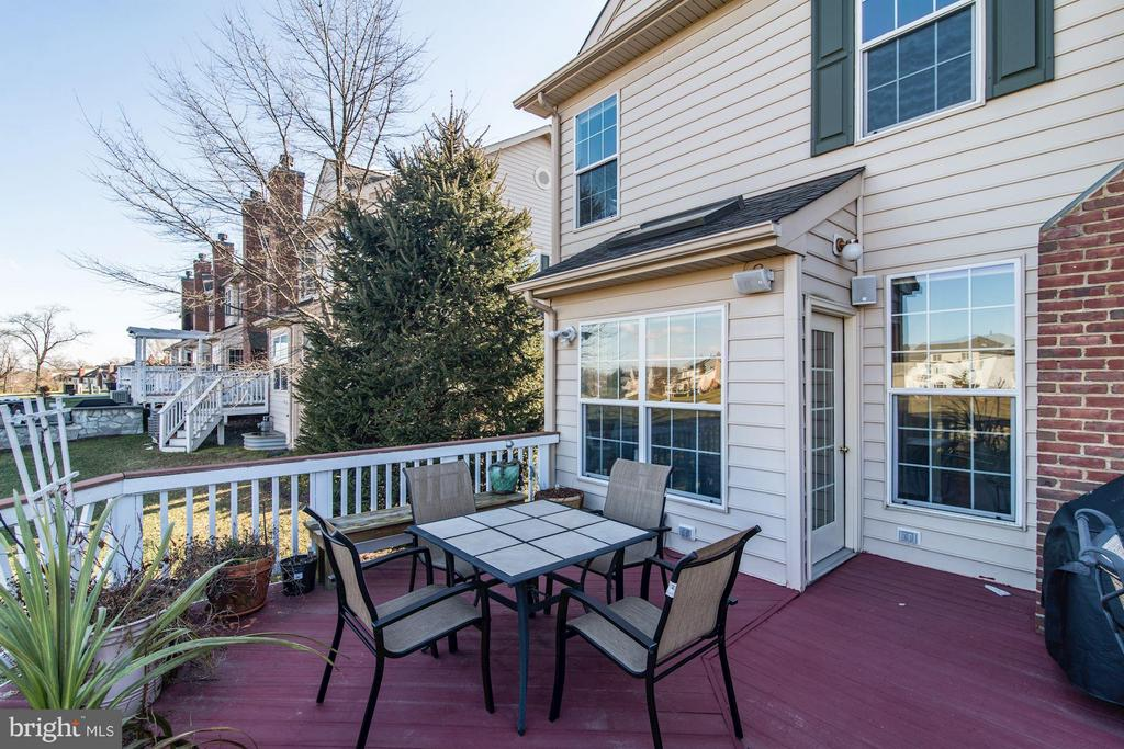 Large Deck with Incredible Views - 43226 BALTUSROL TER, ASHBURN