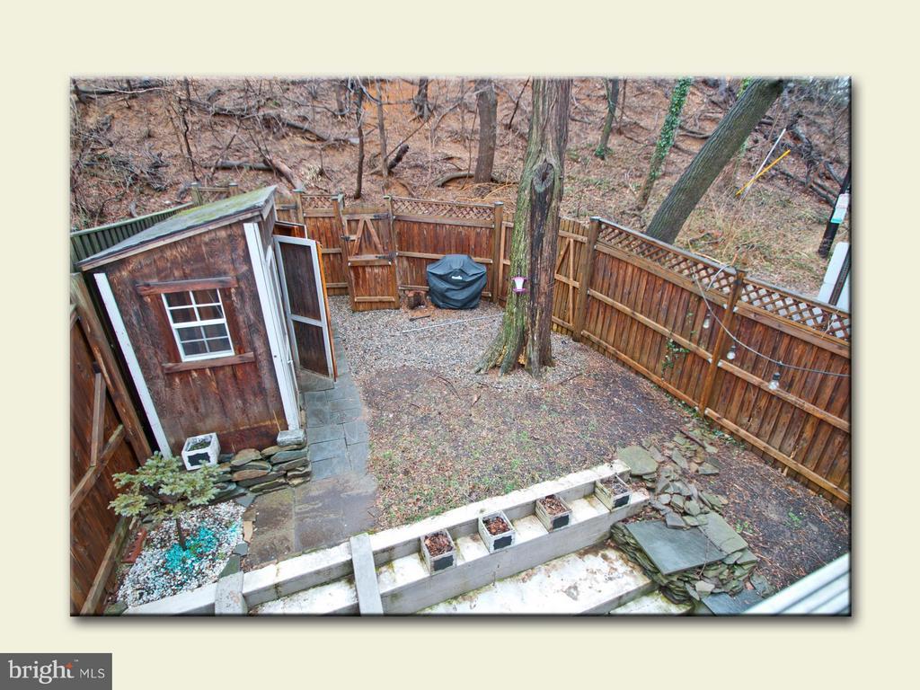 Backyard - 2001 37TH ST NW, WASHINGTON
