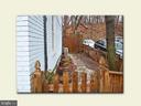 Side yard - 2001 37TH ST NW, WASHINGTON
