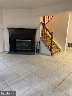 Basement with wood fireplace - 3652 WHARF LN, TRIANGLE