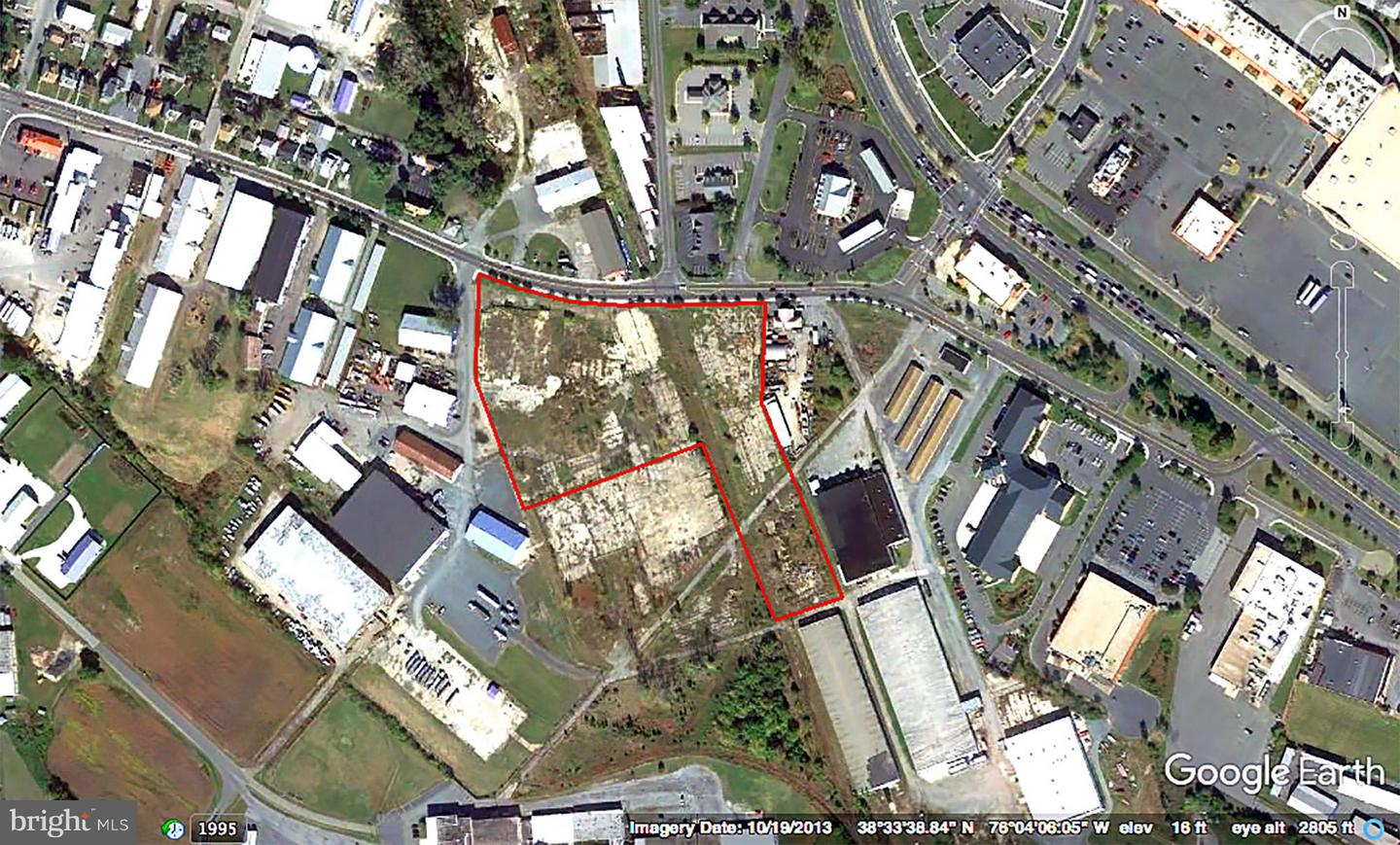 Commercial for Sale at 0 Washington St & Dorchester Ave St Cambridge, Maryland 21613 United States