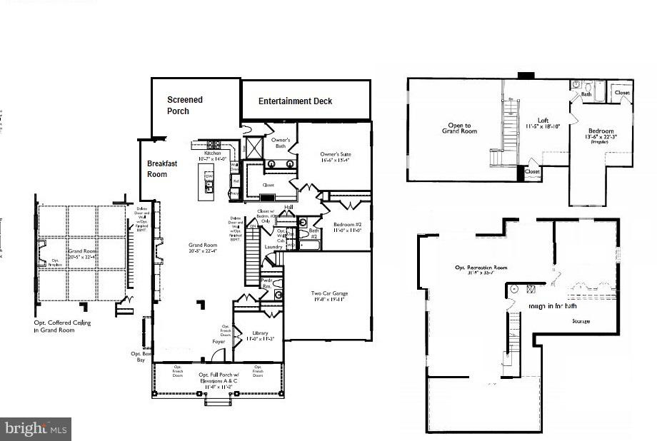 The floorplan is perfect... three levels - 17041 SILVER ARROW DR, DUMFRIES