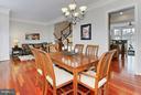 Dining Room/Living Room - 5143 BRAWNER PL, ALEXANDRIA