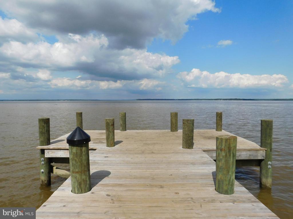 The community dock - 2312 SWEET PEPPERBRUSH LOOP, DUMFRIES