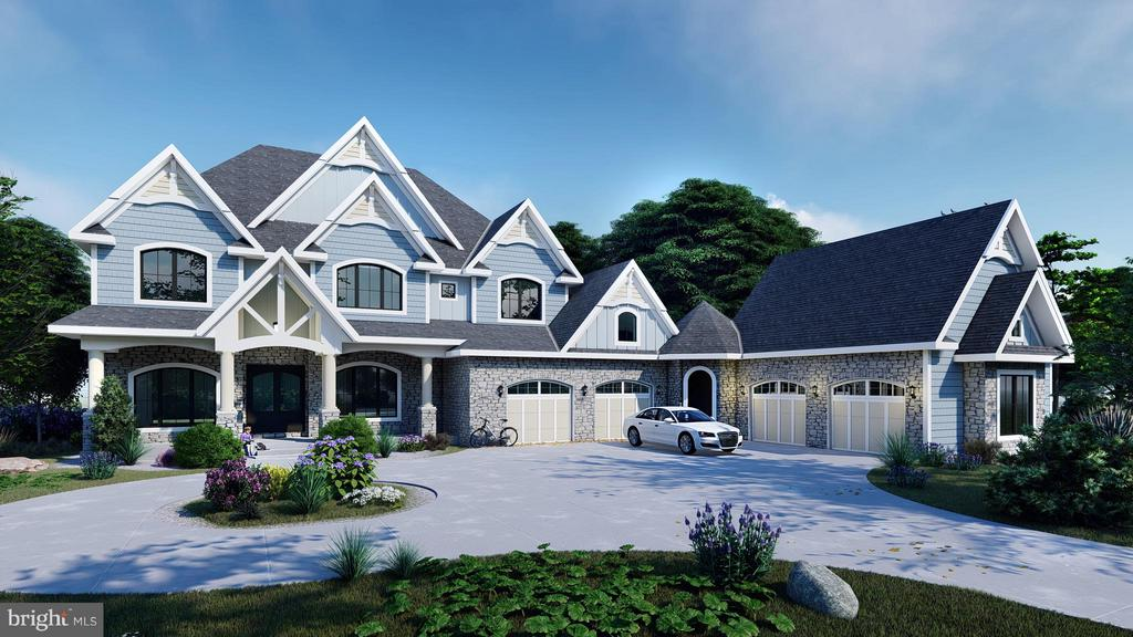 This is the Rendering of the house to be built - 6410 NEWMAN, CLIFTON