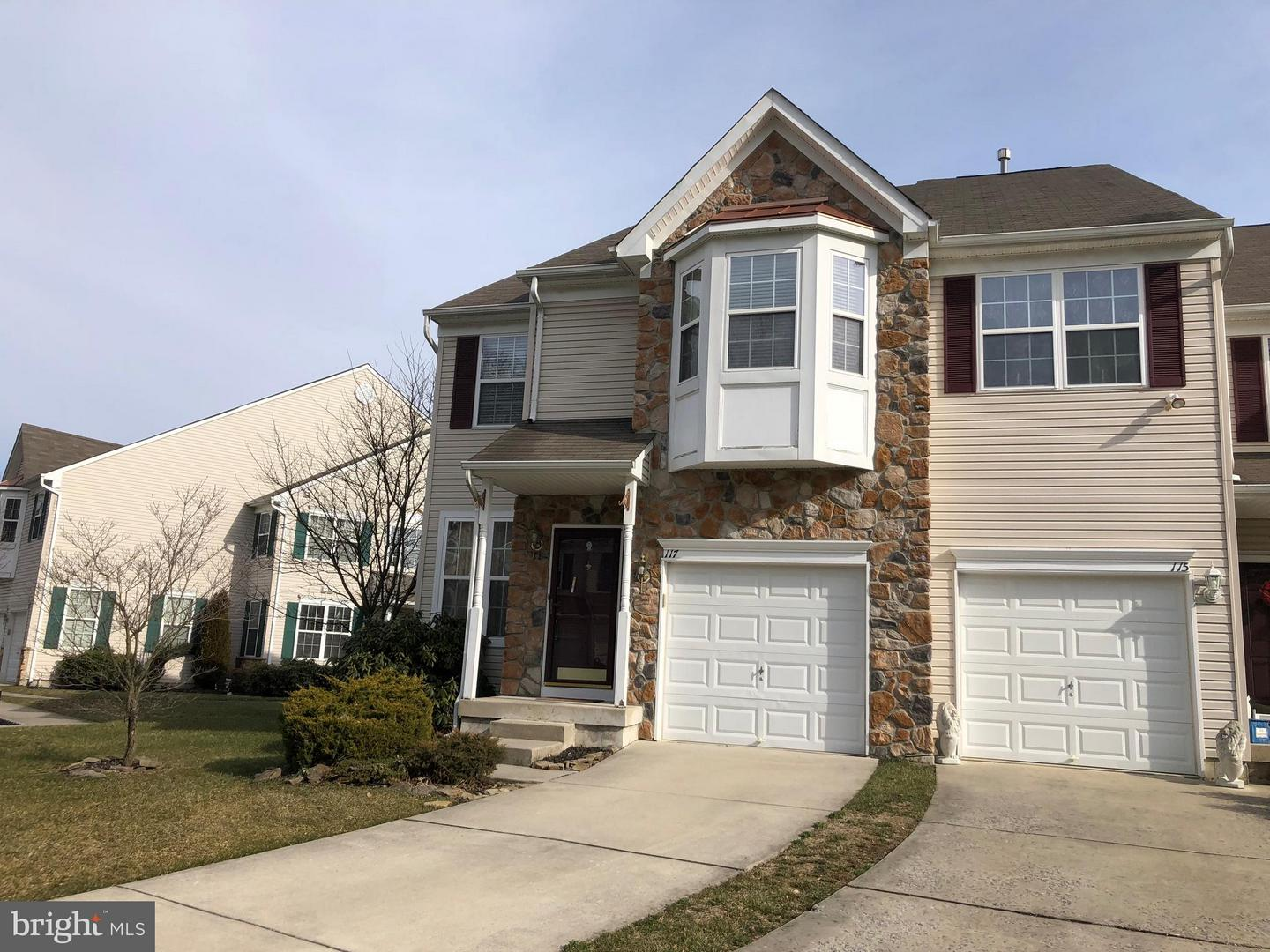 Photo of home for sale at 117 Rittenhouse Drive, Deptford NJ