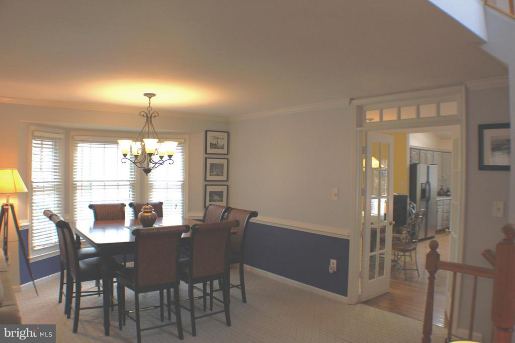 Main Level Dining Area - 6606 FORSYTHIA ST, SPRINGFIELD