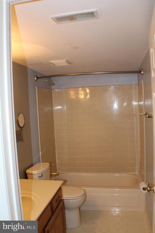 Lower Level Bath - 6606 FORSYTHIA ST, SPRINGFIELD