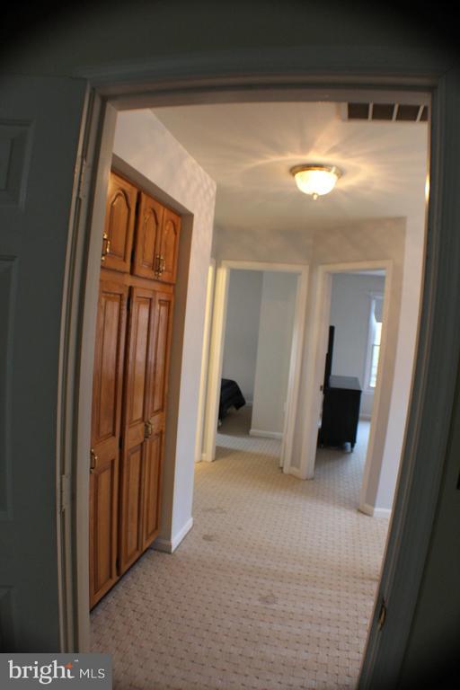 Upper Level Hallway - 6606 FORSYTHIA ST, SPRINGFIELD