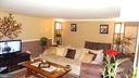 2 BR apartment (101), Living room with Fireplace - 3630 TRIPOLI CT, DUMFRIES