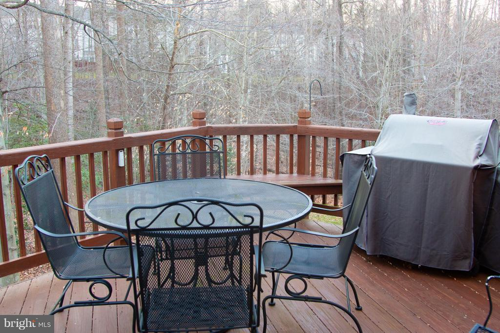 Deck Backs to Trees - 5629 EPPES ISLAND PL, MANASSAS