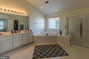 Huge Master Bedroom Bathroom with Hot tub - 46909 BACKWATER DR, STERLING