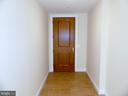 Foyer and front door. - 11990 MARKET ST #215, RESTON