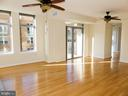 Living room toward kitchen. - 11990 MARKET ST #215, RESTON