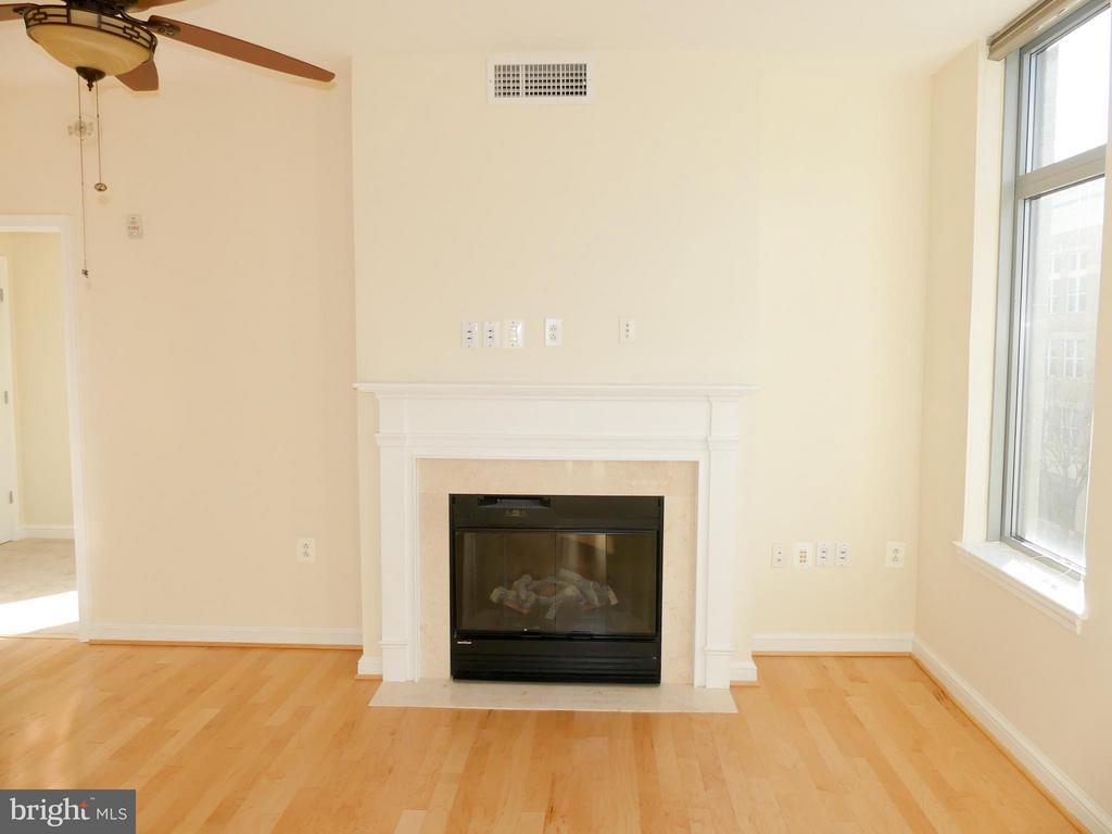 Electric fireplace - 11990 MARKET ST #215, RESTON