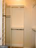 Master closet. - 11990 MARKET ST #215, RESTON
