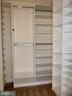 Number two bedroom walk-in closet. - 11990 MARKET ST #215, RESTON