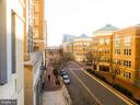 View from patio. - 11990 MARKET ST #215, RESTON