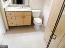 Hall bath. - 11990 MARKET ST #215, RESTON