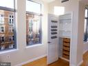 Pantry with built in storage system. - 11990 MARKET ST #215, RESTON