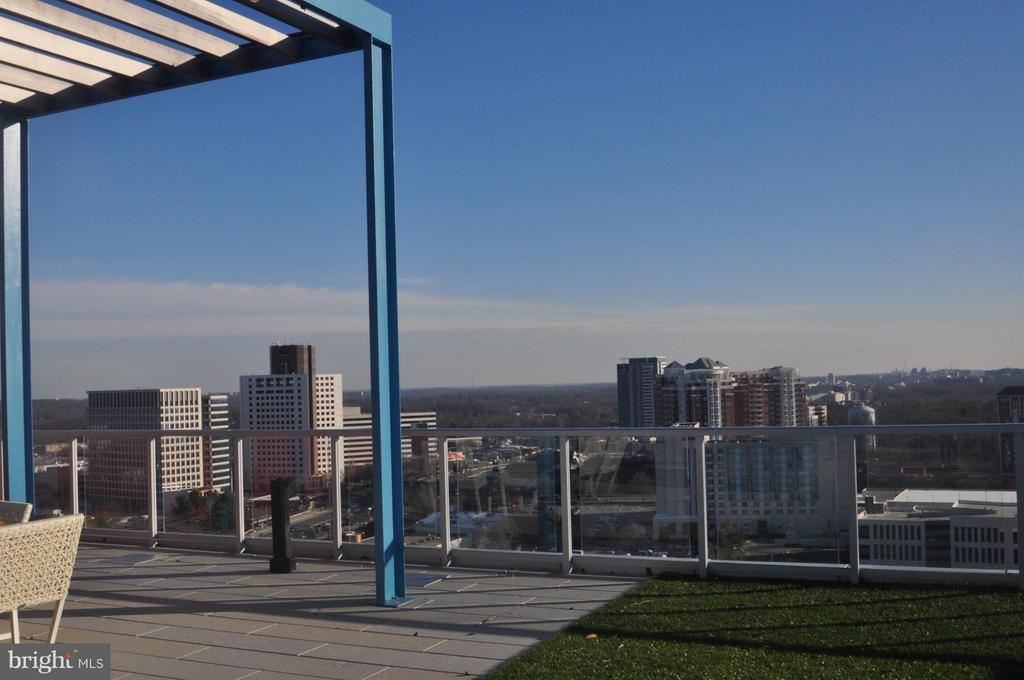 Amazing Views from Rooftop Terrace - 930 ROSE AVE #1905, NORTH BETHESDA